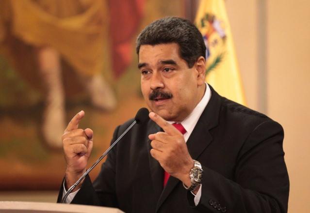 """Maduro: """"Han sido ya capturados parte de los autores materiales del atentado"""" Djzvdm10"""