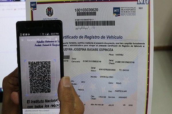 Certificado de Registro Original de Vehículo será emitido vía correo electrónico Dmdjsb10