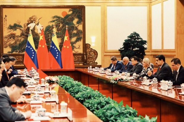 Nicolás Maduro y Canciller de China