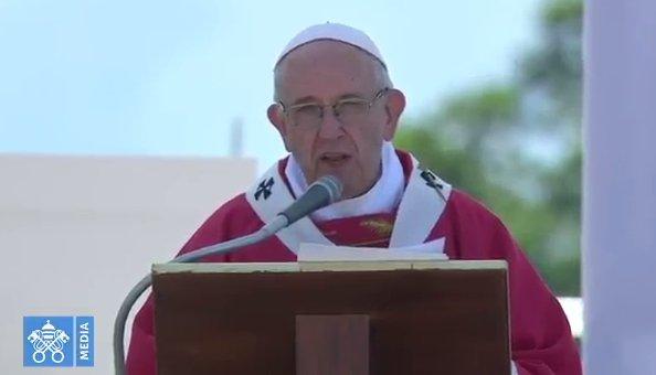 """Papa Francisco: """"No se puede creer en Dios y ser mafioso"""" Dnihfj10"""