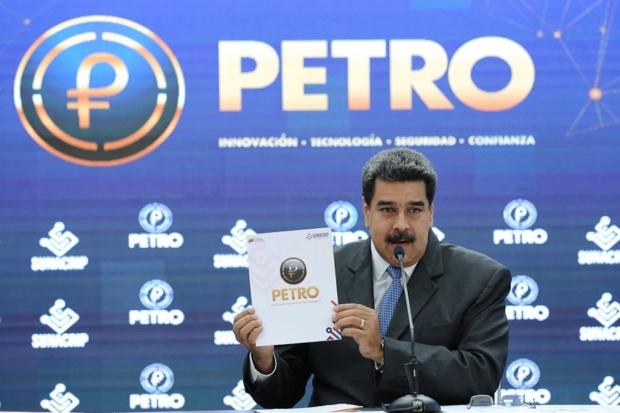 Nicolás Maduro, El Petro