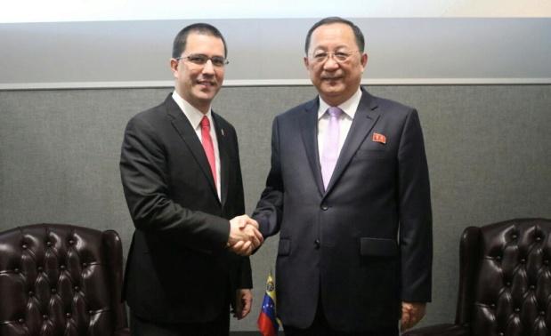 Venezuela y Corea del Norte