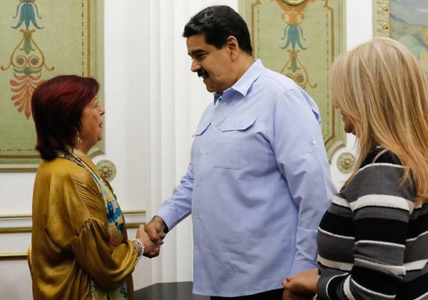 Nicolás Maduro, Maria Cristina Perceval