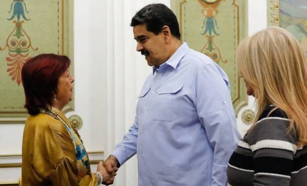 Nicolás Maduro, Cristina Perceval