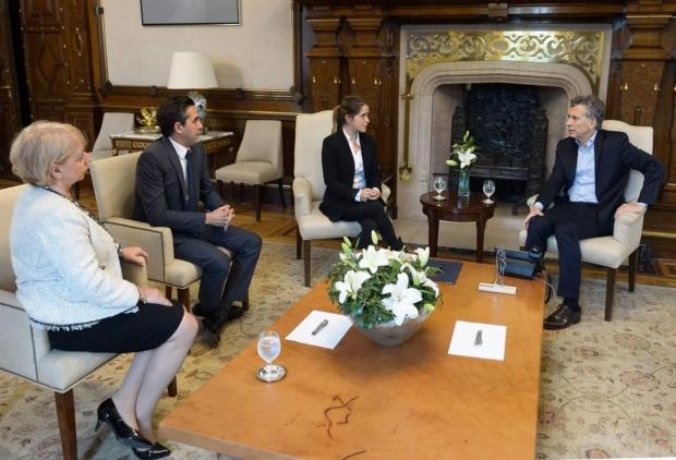 Yerno de Antonio Ledezma y Mauricio Macri