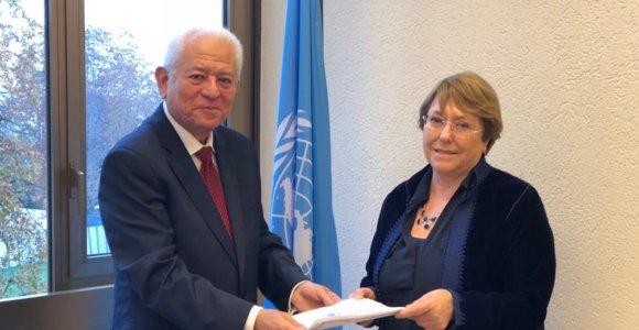 Venezuela invitó a Michelle Bachelet