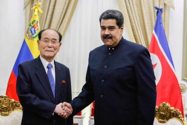 Nicolás Maduro, Corea del Norte