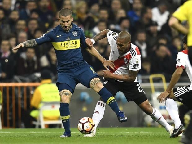 River Plate derrota 3-1 a Boca Juniors y se corona campeón de la Copa Libertadores Duatwu10