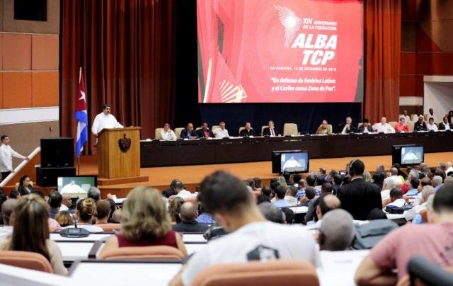 Nicolás Maduro en cumbre del Alba 2018, Cuba