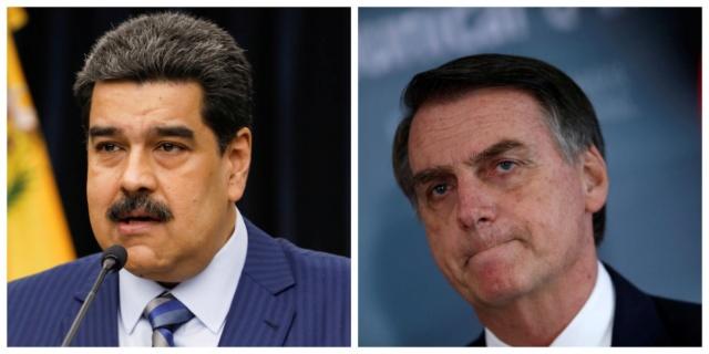 Nicolás Maduro, Jair Bolsonaro