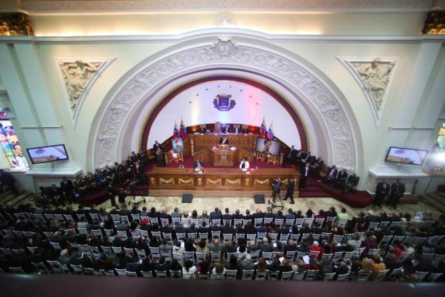 Nicolás Maduro en la ANC 2019