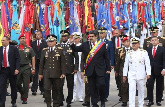 FANB reconoce y jura lealtad a Nicolás Maduro como su comandante en jefe para el período 2019-2025 Dwlll910