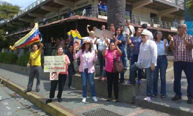 Opositores de Venezuela