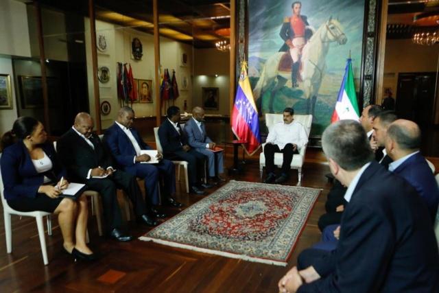 Venezuela y Guinea Ecuatorial fortalecen lazos de cooperación