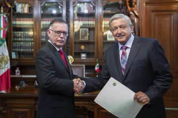 López Obrador y Arias Cardenas