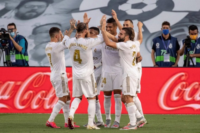El Real Madrid, campeón de La Liga al vencer 2-1 al Villareal
