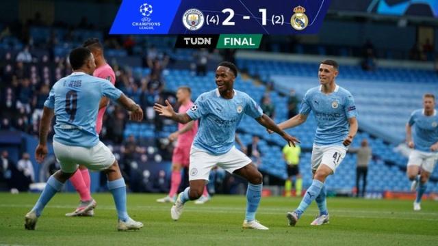 Manchester City elimina al Real Madrid