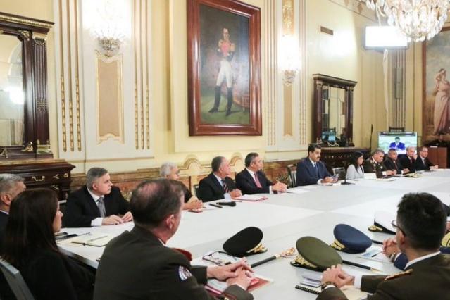 Presidente Maduro convoca al Consejo de Defensa de la Nación