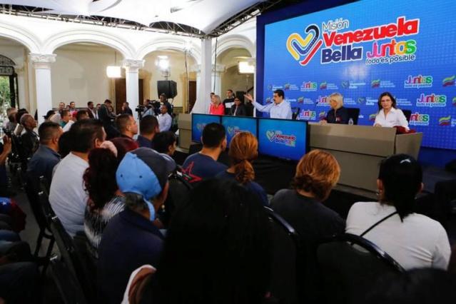 El presidente de la República de la República Bolivariana de Venezuela, Nicolás Maduro