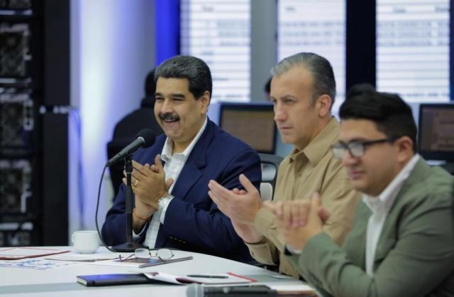 Presidente Maduro y Ministro Tareck El Aissami