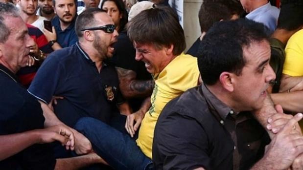 Jair Bolsonaro apuñalado