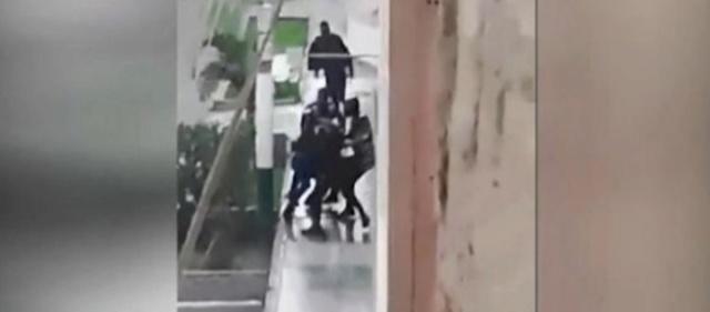 Brutal represión contra vendedores venezolanos en Perú