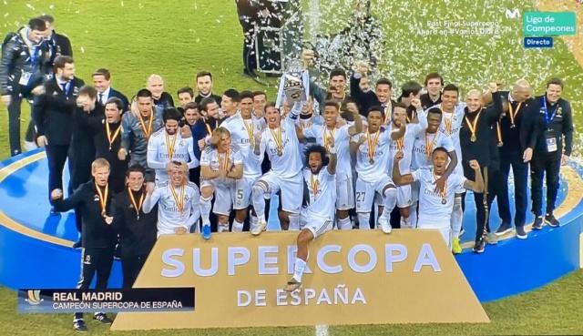 Real Madrid, Supercopa, España