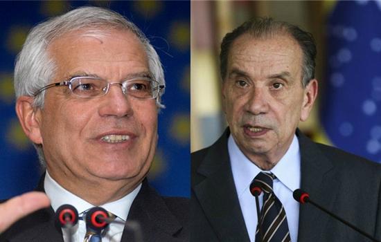 Josep Borrell, Aloysio Nunes Ferreira