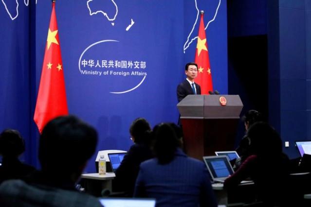 vocero de la cancillería china, Geng Shuang