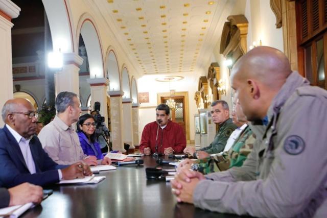 Presidente Maduro adelanta planes contra el Coronavirus