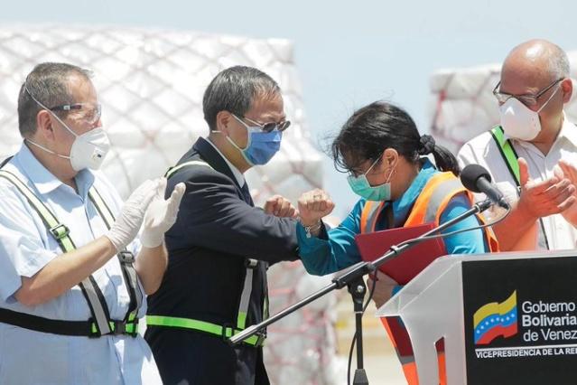 Llegó a Venezuela nueva ayuda técnica de China para combatir el coronavirus