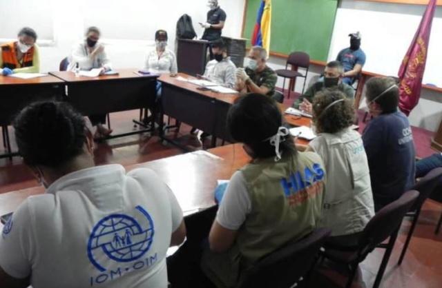 Gobierno venezolano y la ONU fortalecen plan de atención en frontera para prevenir Covid-19