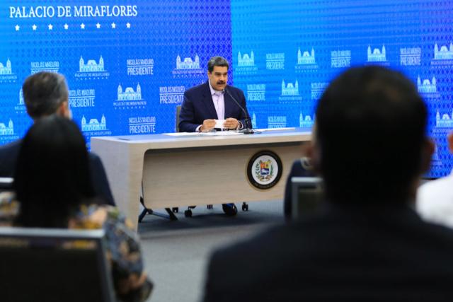 Presidente Nicolás Maduro Moros