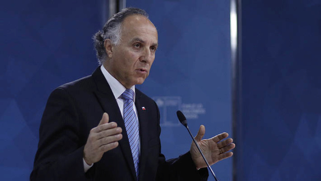 ministro de Relaciones Exteriores de Chile, Teodoro Ribera,