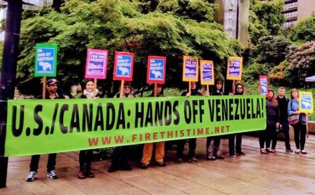 Movimientos en el mundo apoyan a Venezuela