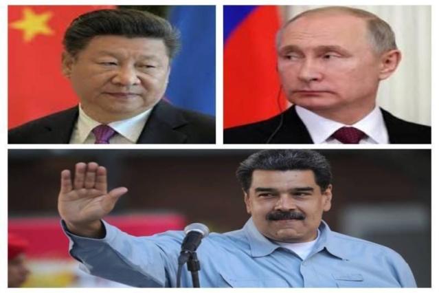 Cooperación rusa-china con Venezuela amenaza hegemonía de EEUU