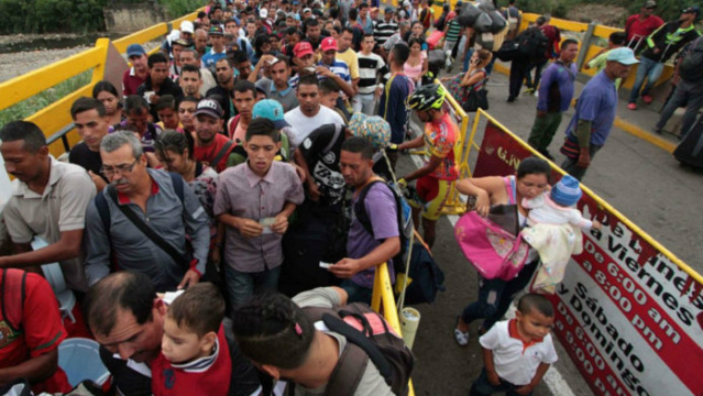 Paso froterizo Venezuela-Colombia