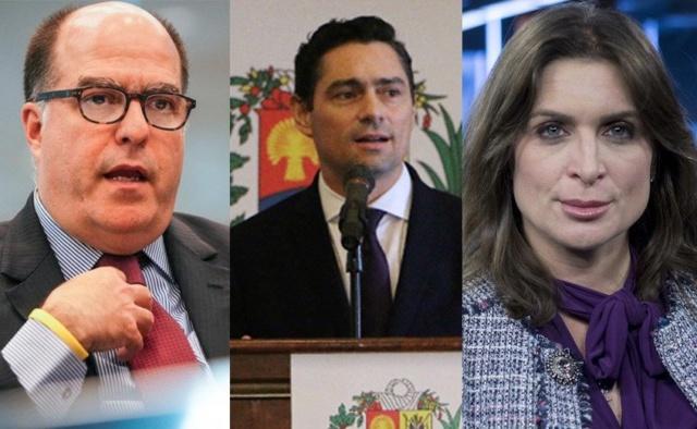 Vanesa Neuman, Julio Andrés Borges y Carlos Vecchio