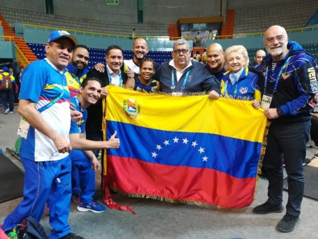 Génesis Rodríguez consiguió el primer oro para Venezuela