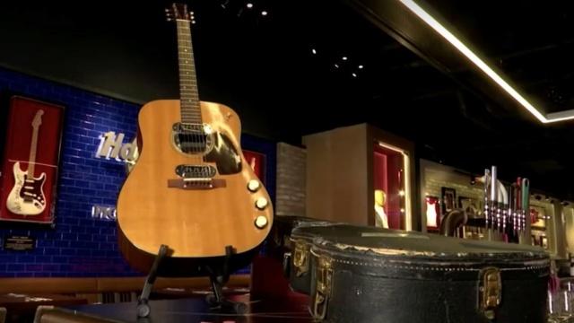 guitarra de Kurt Cobain