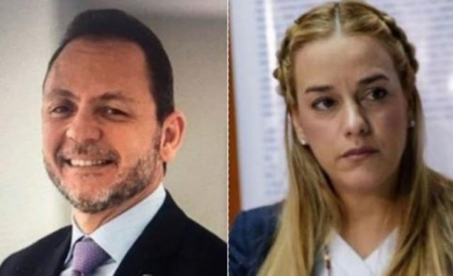 Raúl Gorrín y Lilian Tintori