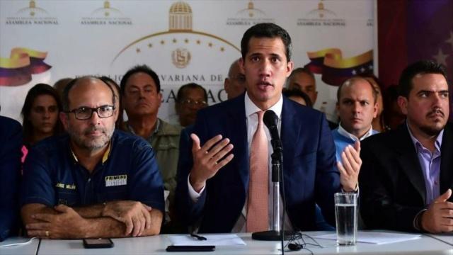 Fracasado, Juan Guaidó