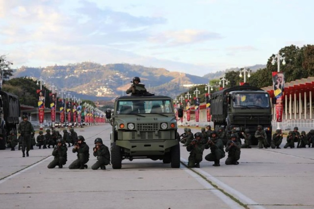 Ejercicio Militar Escudo Bolivariano 2020