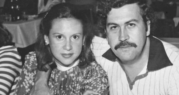 Victoria Eugenia Henao y Pablo Escobar