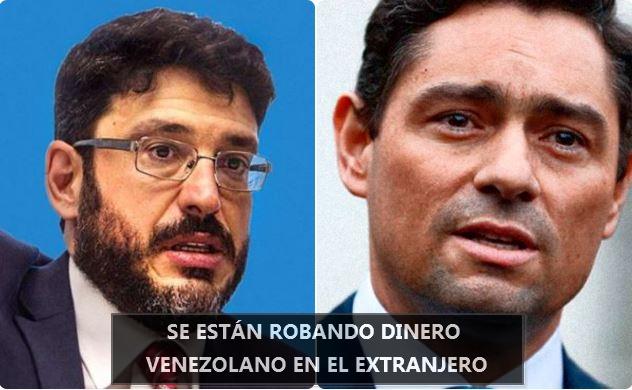 José Ignacio Hernández y Carlos Vecchio