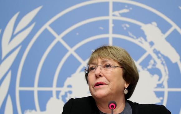Alta Comisionada de Derechos Humanos de las Naciones Unidas, Michelle Bachelet