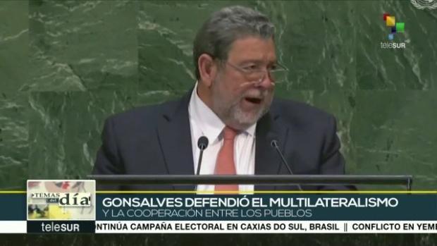 Ralph Gonsalves, ONU