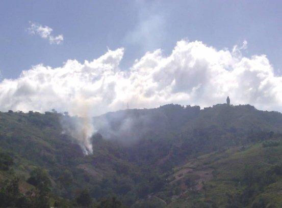 Ola de calor, fuertes vientos e incendios forestales afectan servicio eléctrico en Trujillo Img_2010
