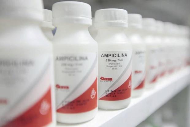 Medicina, Ampicilina