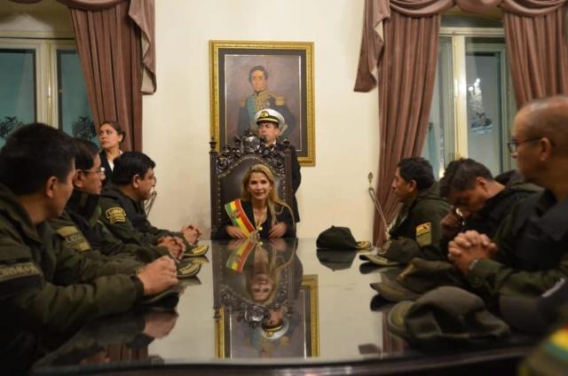 Dictadora Jeanine Áñez
